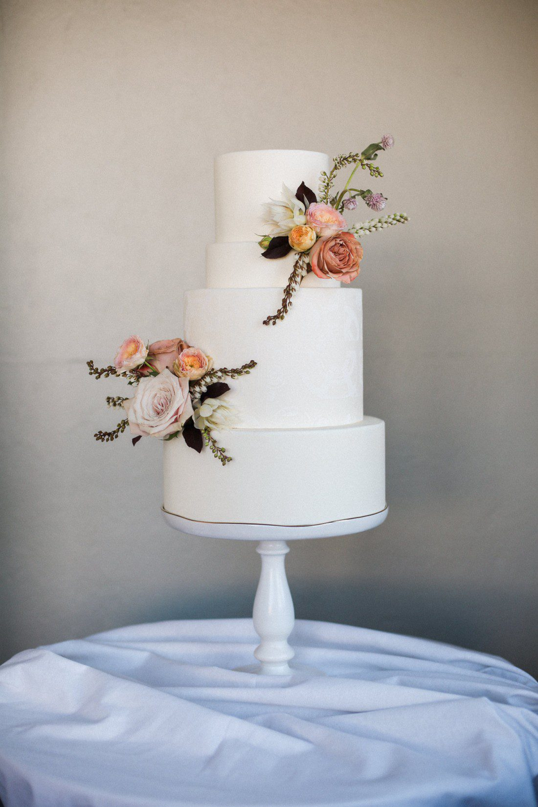 Kansas City Wedding Styled Shoot Winery Cake