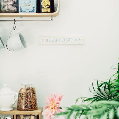 Lovestruck wedding planner coffee bar in Omaha office