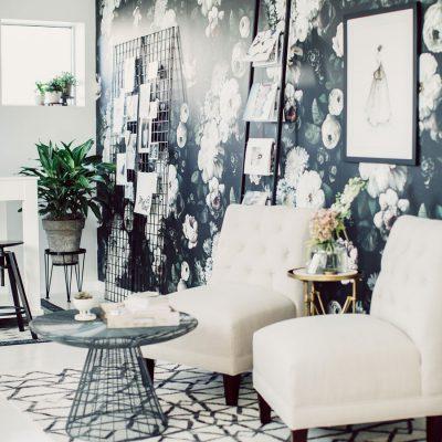 Lovestruck wedding planner office seating in Omaha Nebraska