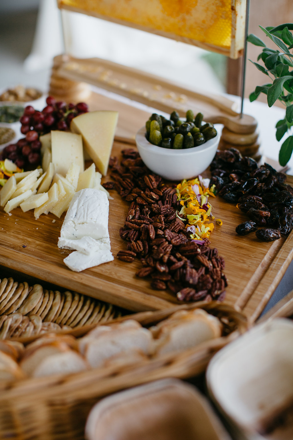 Iowa Midwest Winery Wedding Charcuterie