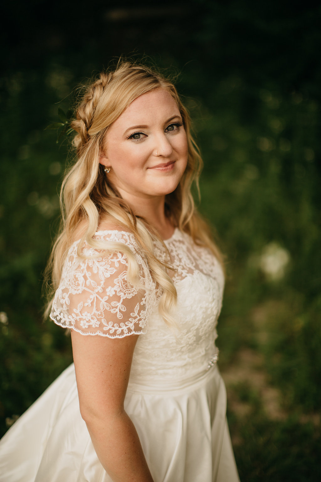 Iowa Midwest Winery Wedding Bride