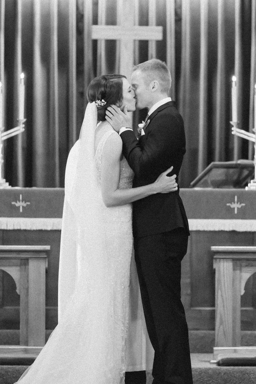 Nebraska Midwest Tent Wedding Ceremony Church
