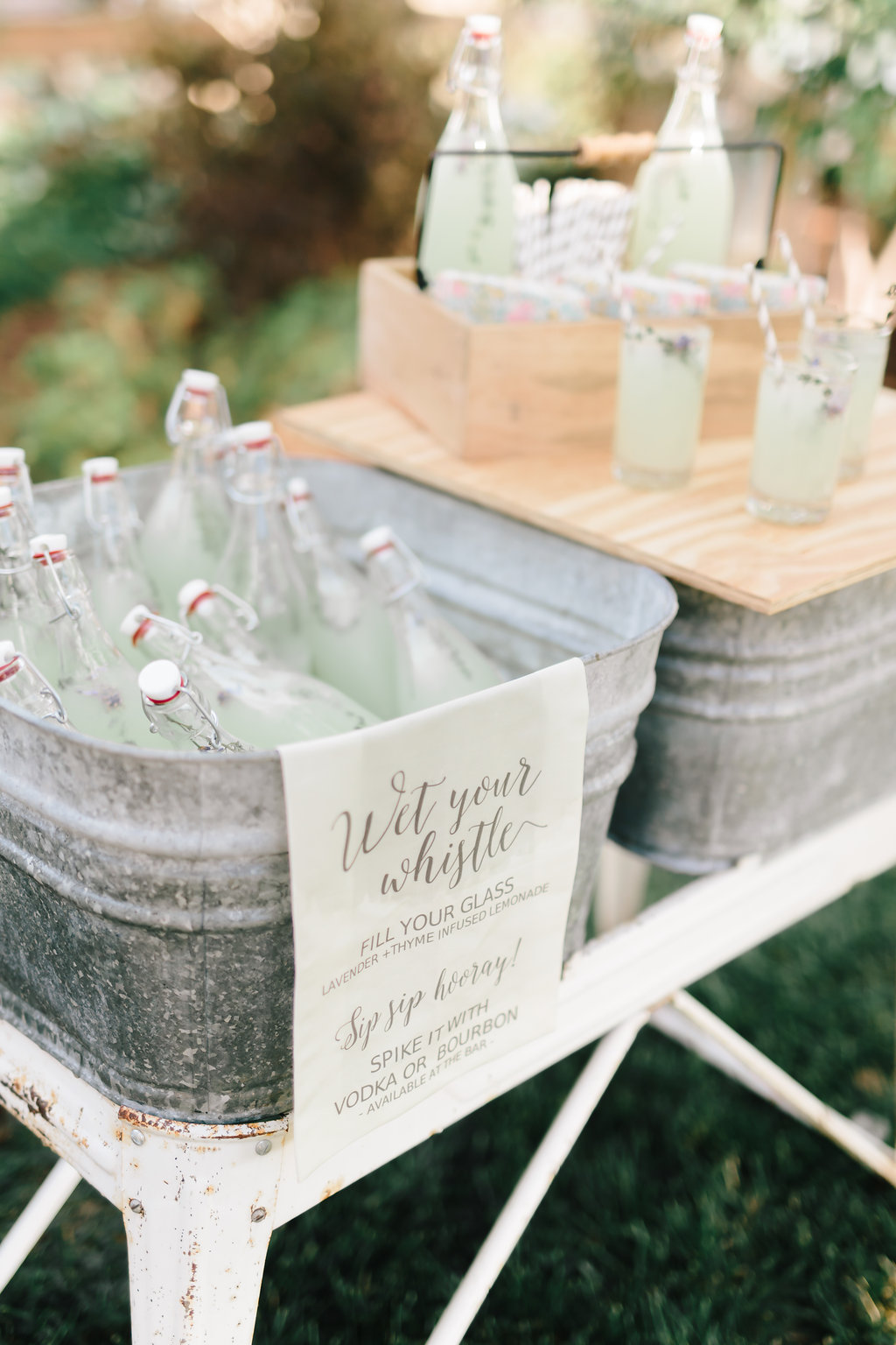 Nebraska Midwest Tent Wedding Lemonade