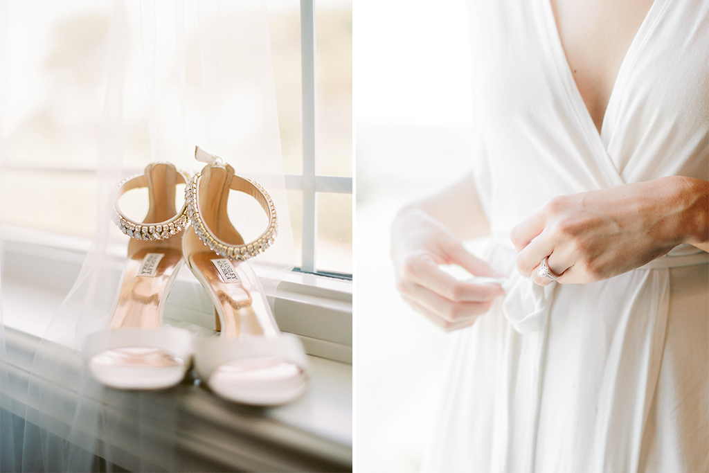Nebraska Midwest Tent Wedding Shoes