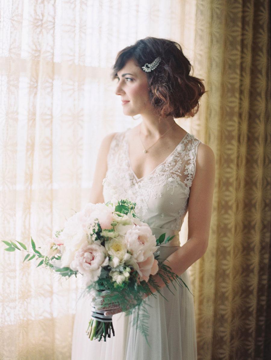 Holland Performing Arts Omaha Nebraska Wedding Bride Bouquet