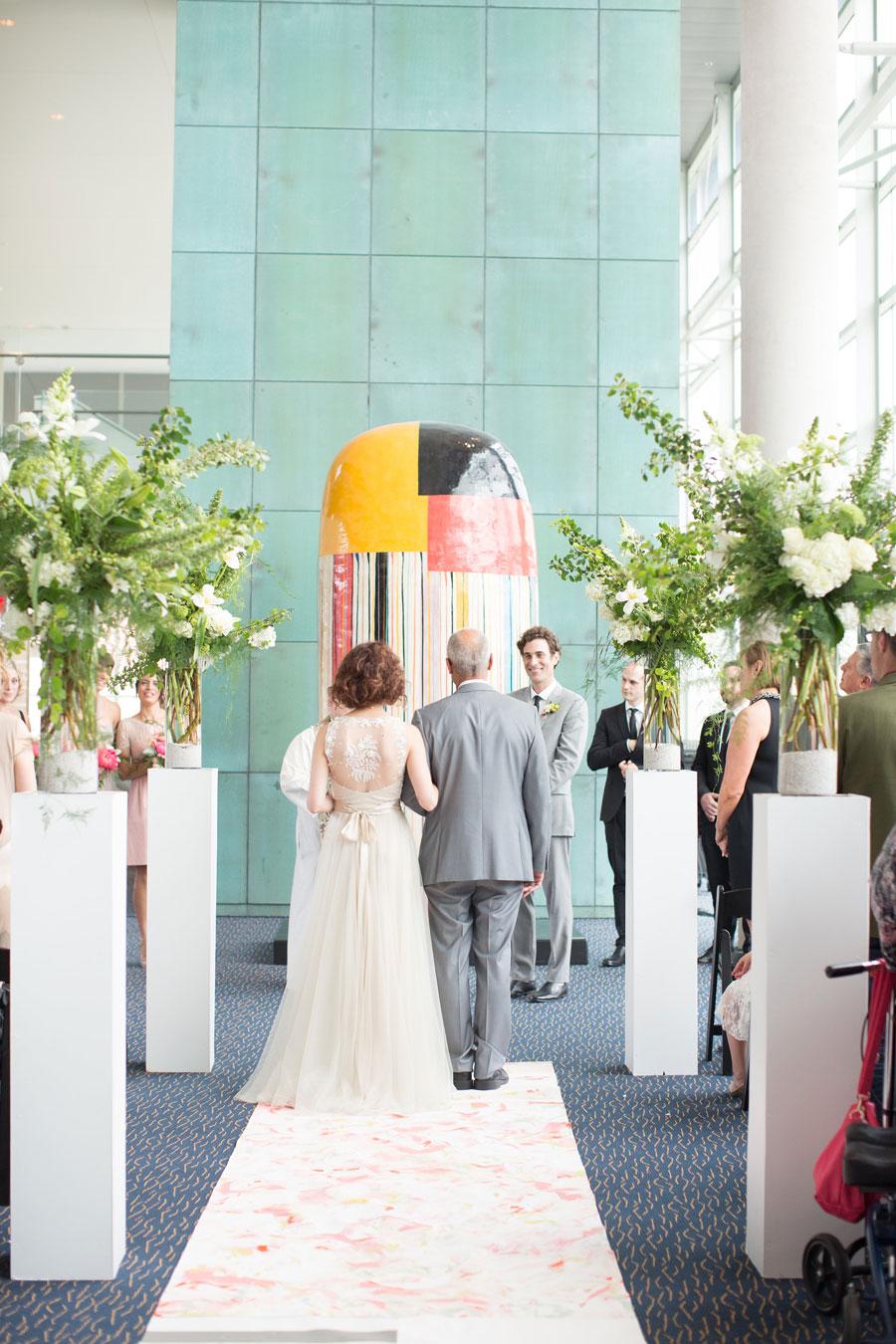 Holland Performing Arts Omaha Nebraska Wedding Ceremony