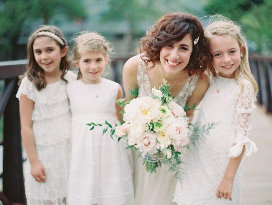 Holland Performing Arts Omaha Nebraska Wedding Flower Girls