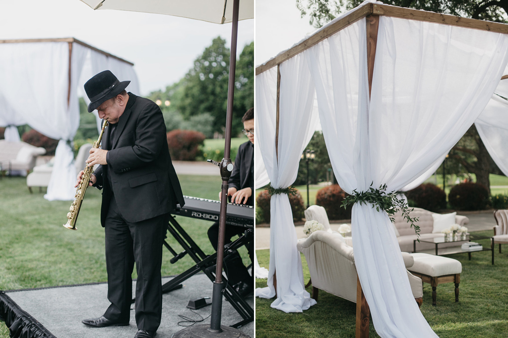 Happy Hollow Country Club Omaha Nebraska Midwest Wedding Band Cabanas