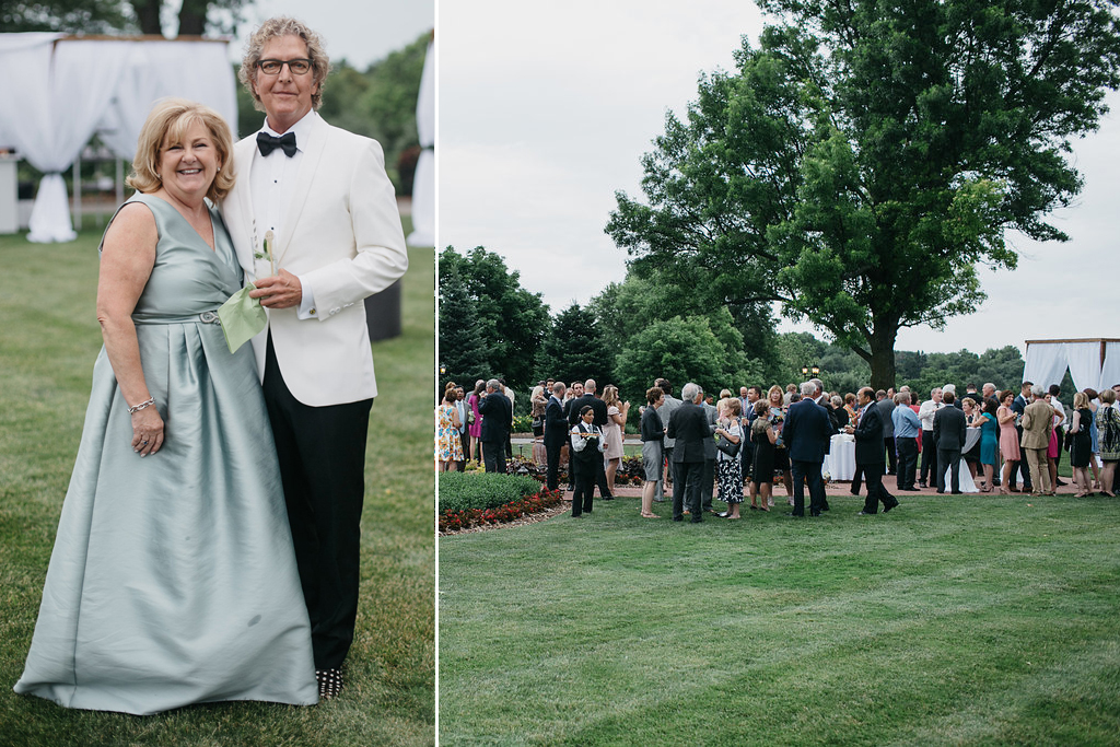 Happy Hollow Country Club Omaha Nebraska Midwest Wedding Parents Guests