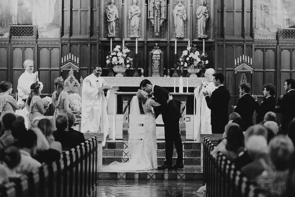 Happy Hollow Country Club Omaha Nebraska Midwest Wedding Ceremony