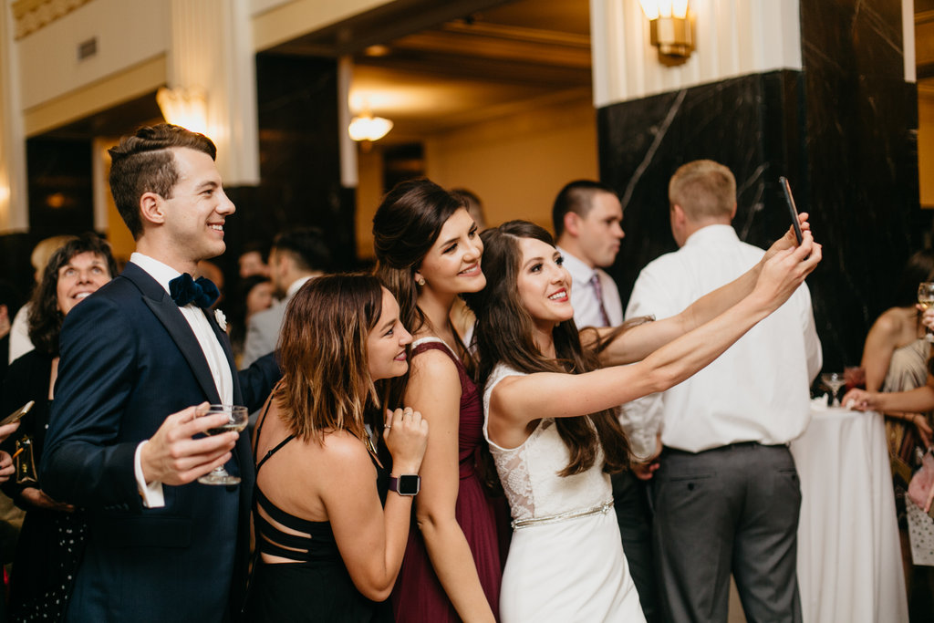 Paxton Ballroom Omaha Nebraska Midwest Wedding guests
