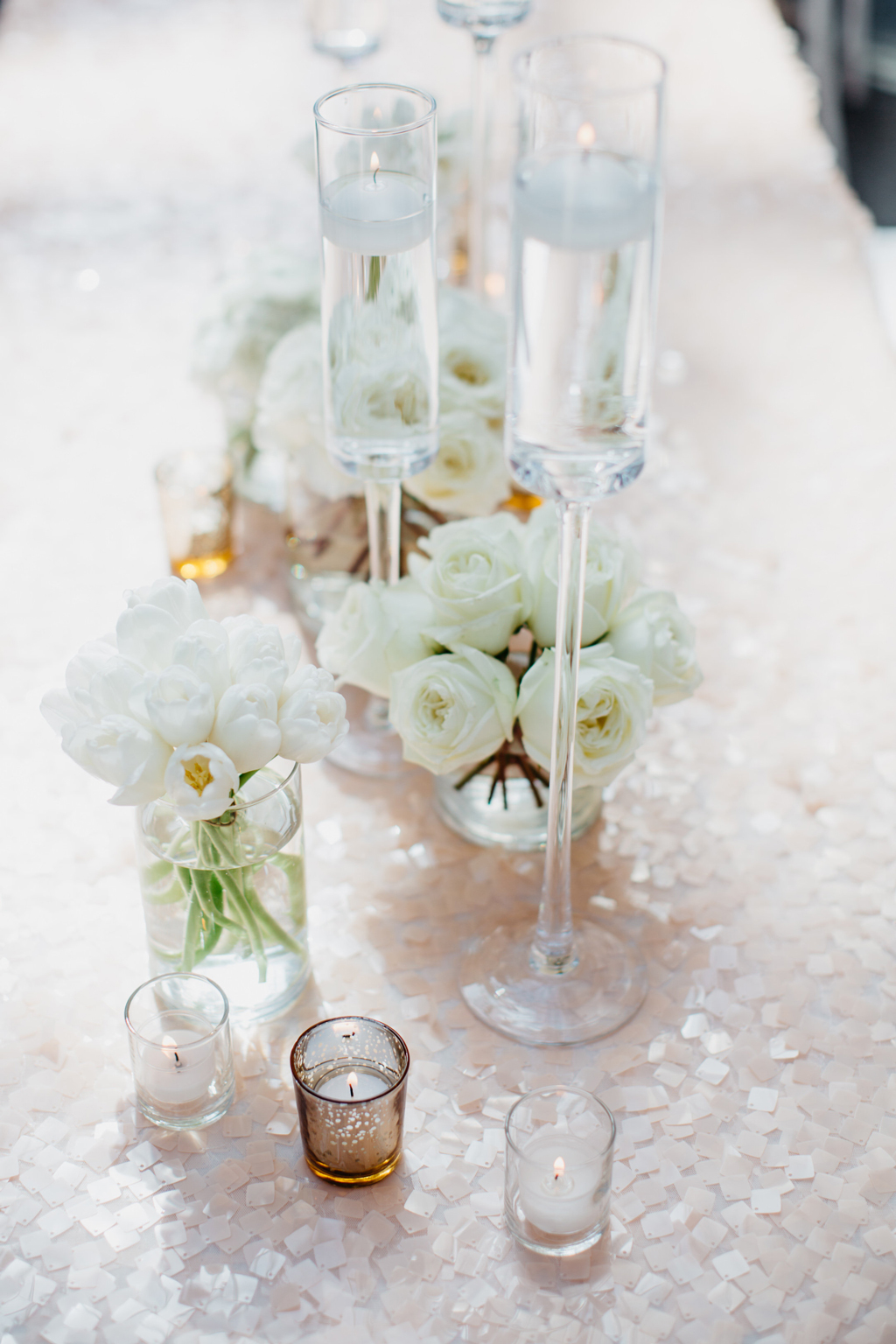 Joslyn Art Museum Omaha Nebraska Midwest Wedding Table Flowers