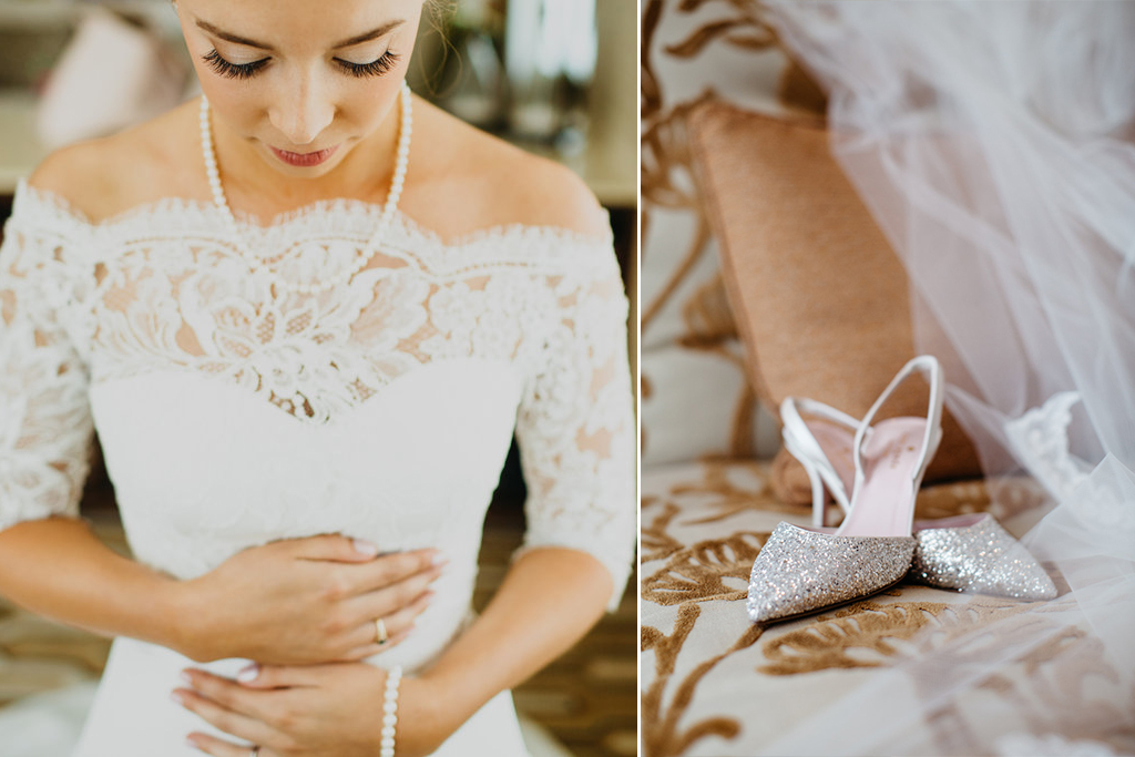 Joslyn Art Museum Omaha Nebraska Midwest Wedding Bride Shoes