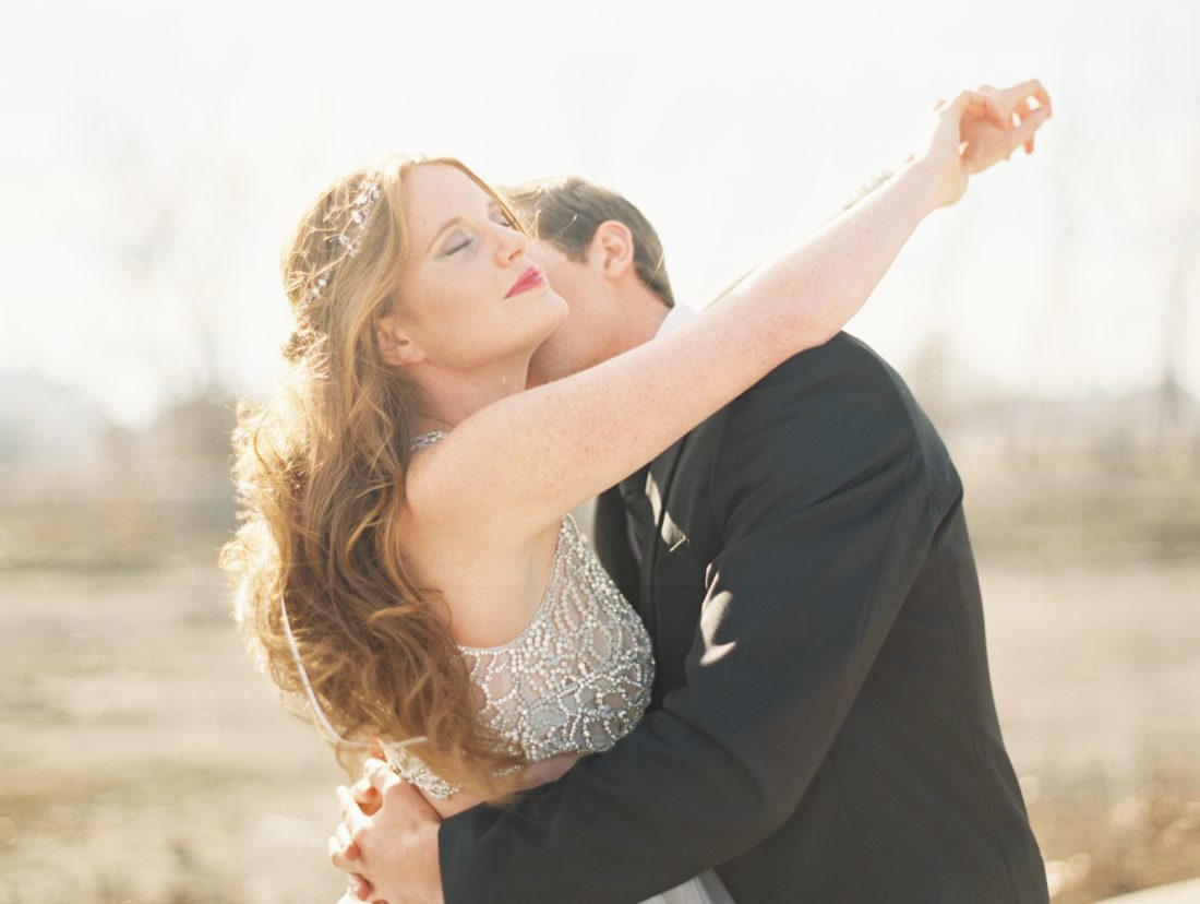 Mermaid Wedding Styled Shoot Kiss