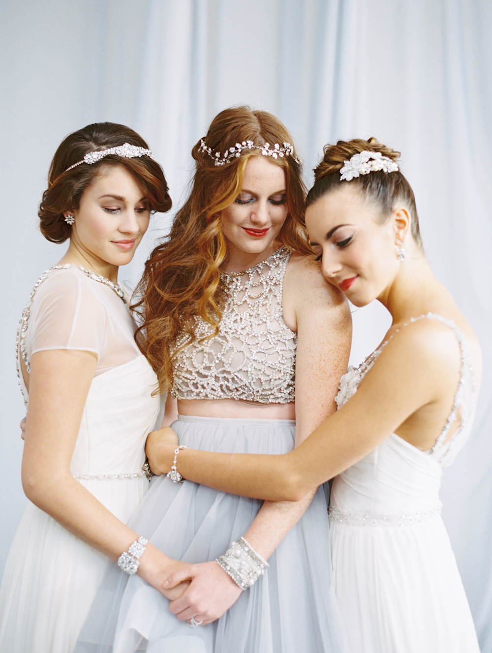 Mermaid Wedding Styled Shoot Bridal Party