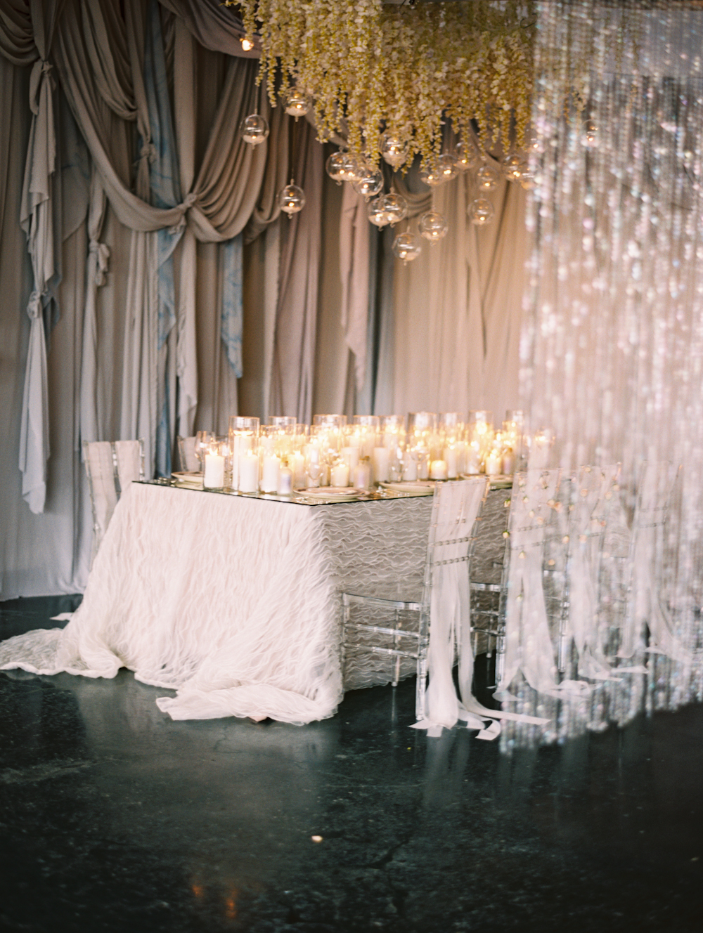 Mermaid Wedding Styled Shoot Full Table