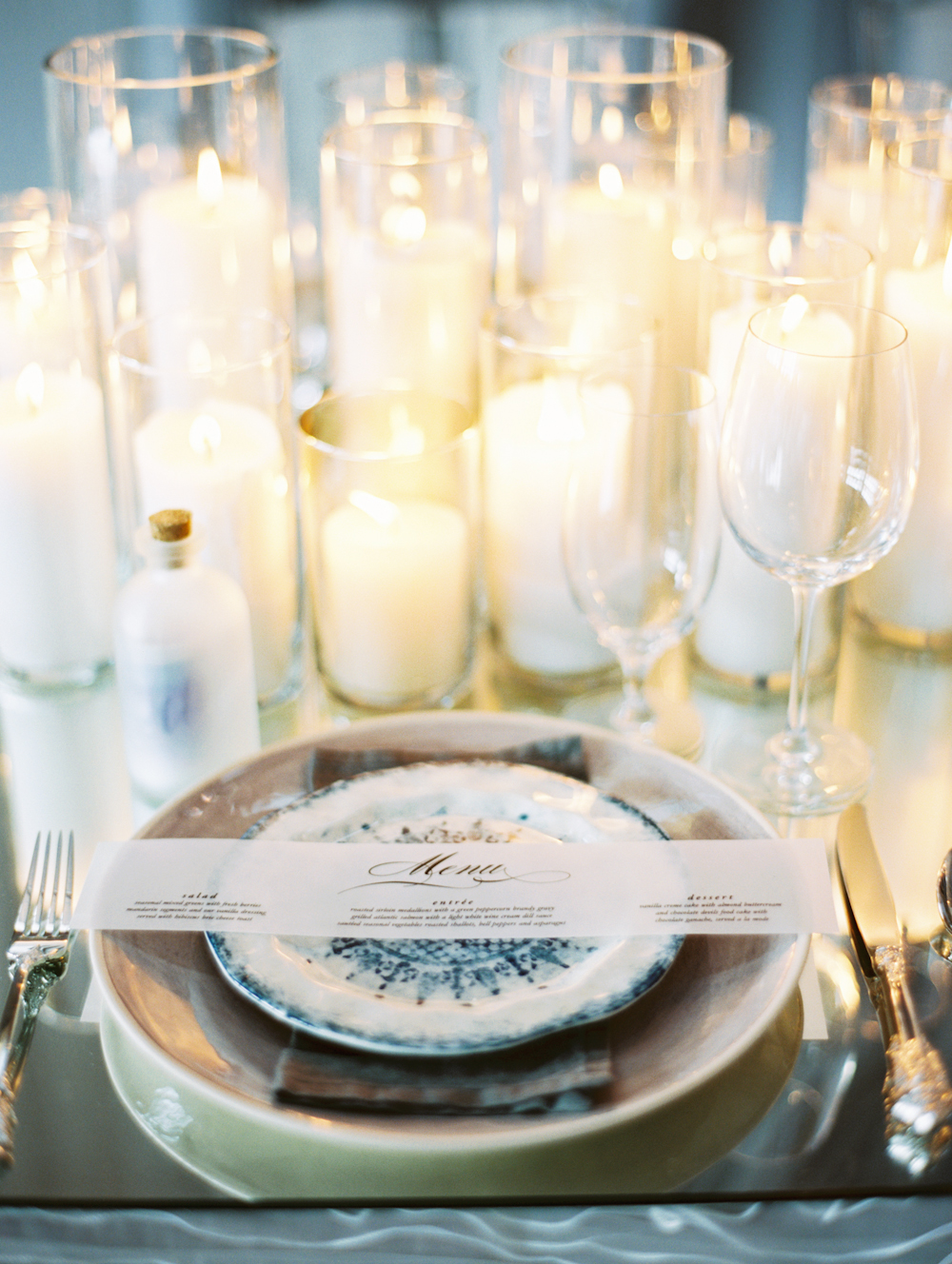 Mermaid Wedding Styled Shoot Place Setting