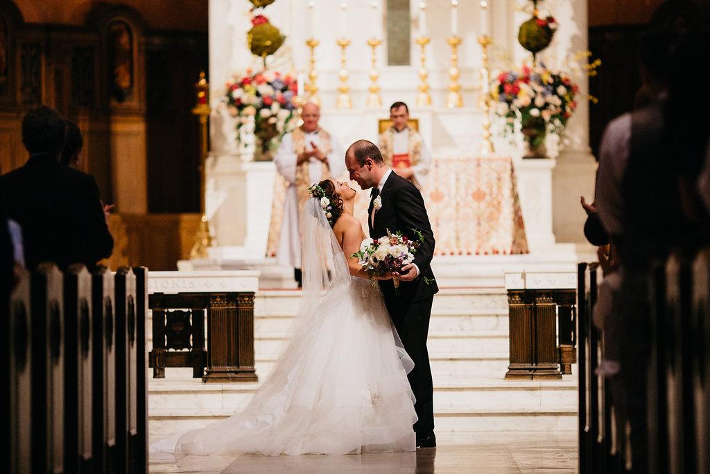 Omaha Nebraska Midwest Wedding Ceremony Altar