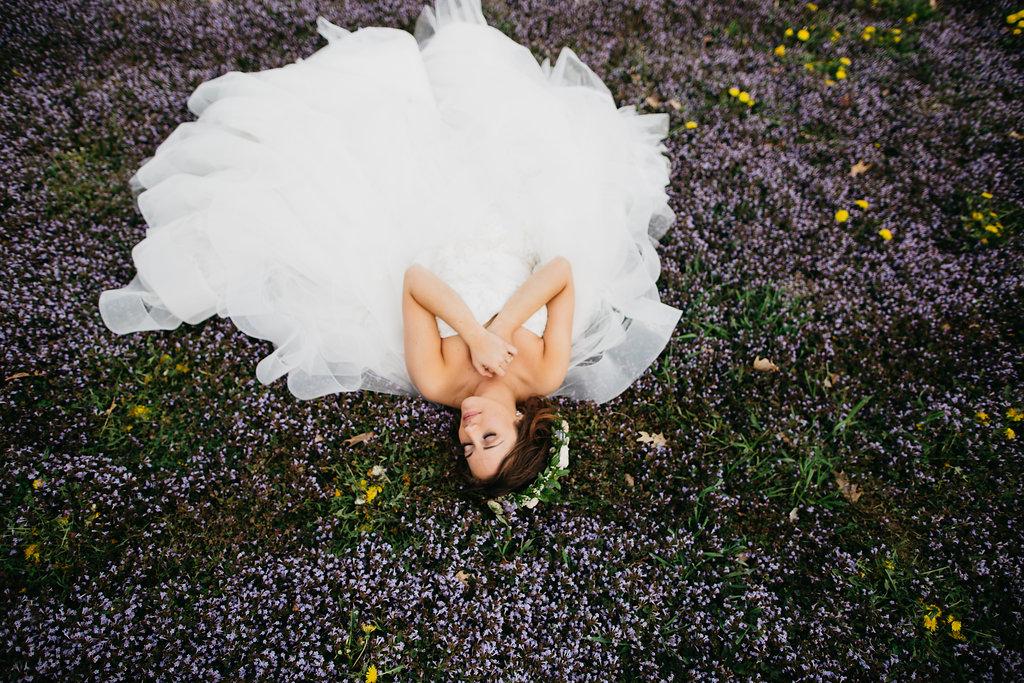 Omaha Nebraska Midwest Wedding Bride Field