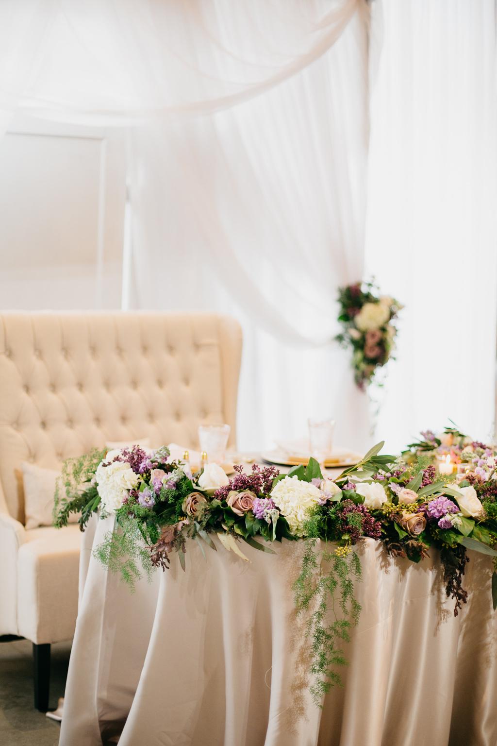 Omaha Nebraska Midwest Wedding Sweetheart Table