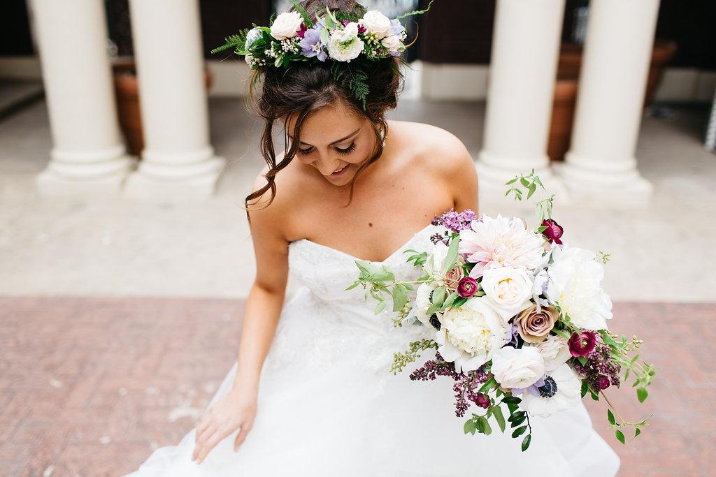 Omaha Nebraska Midwest Wedding Bride Bouquet