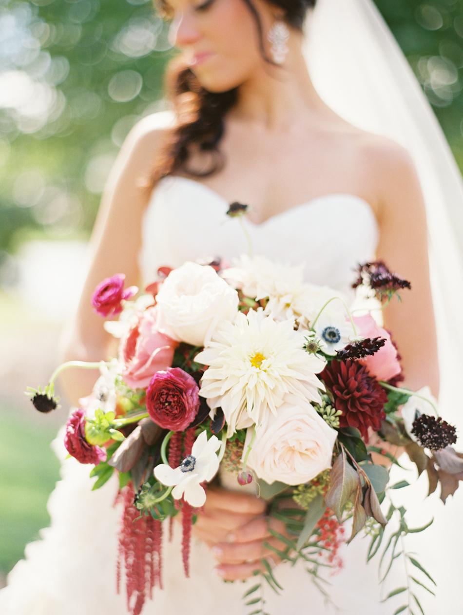 Omaha Nebraska Midwest Wedding Indian Hills Bridal Bouquet