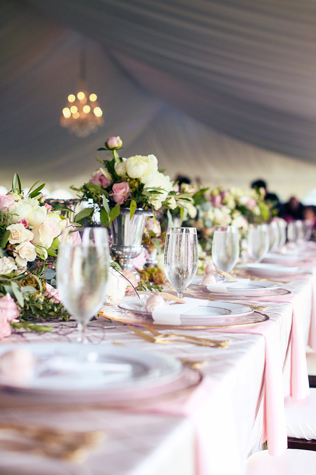 Nebraska Midwest Wedding Head Table