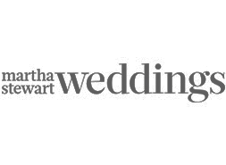 Martha Stewart Weddings feature Lovestruck Weddings and Events