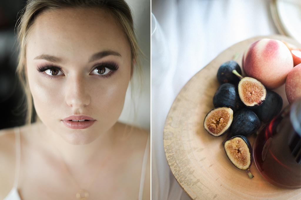 Kansas City Wedding Styled Shoot Winery Bride Figs