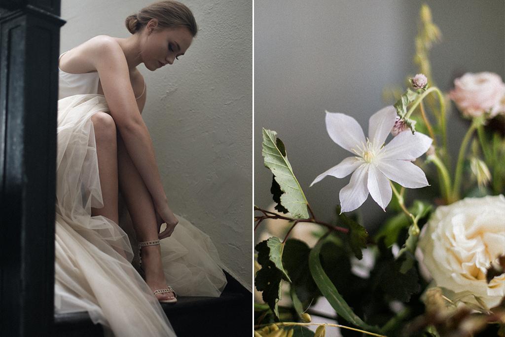 Kansas City Wedding Styled Shoot Winery Bride Flowers
