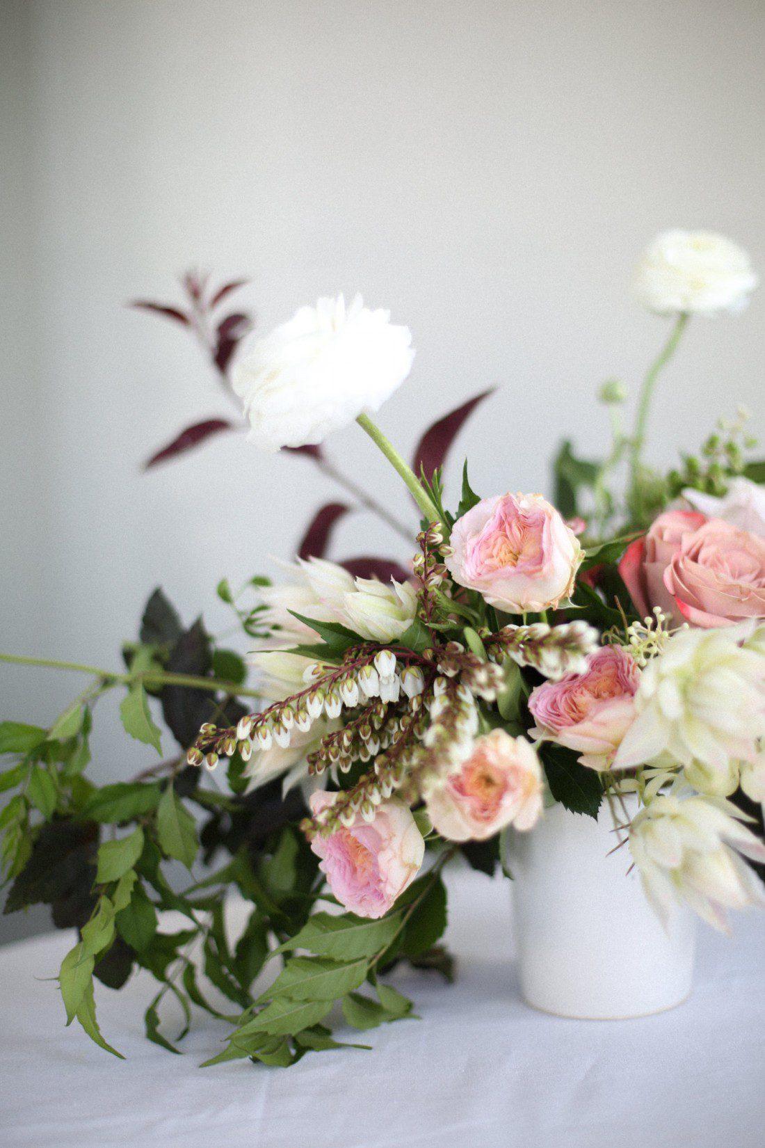 Kansas City Wedding Styled Shoot Winery Flowers