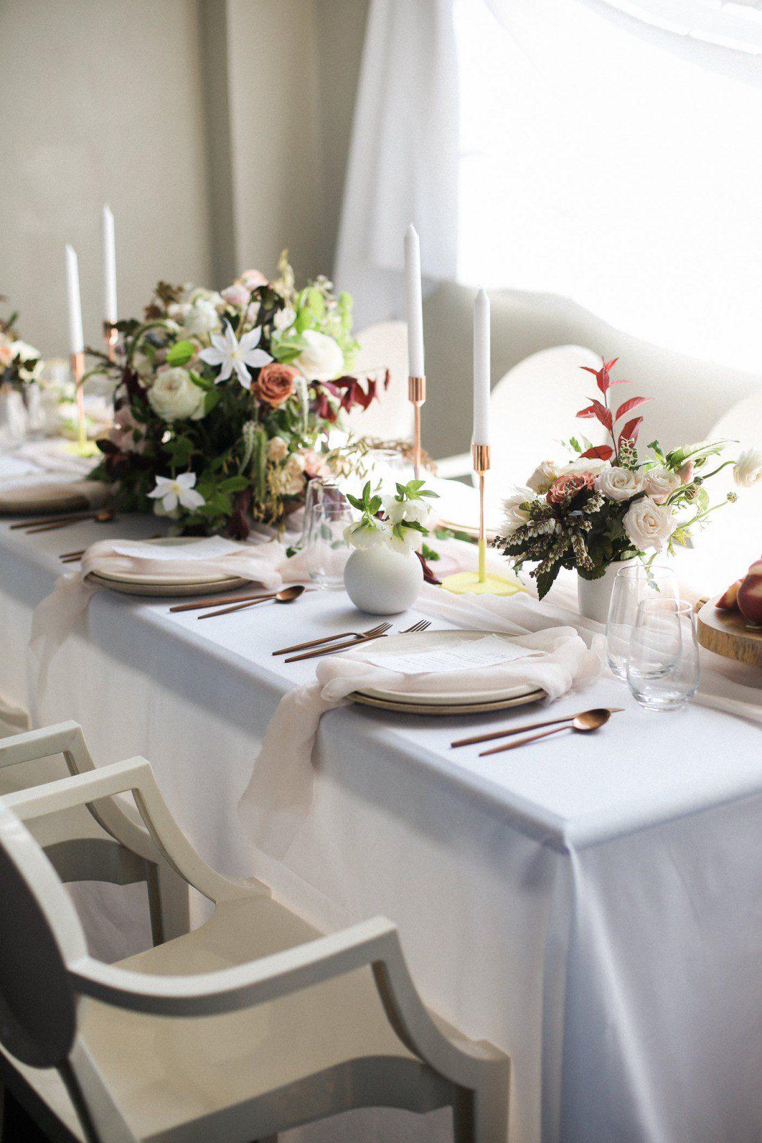Kansas City Wedding Styled Shoot Winery Table