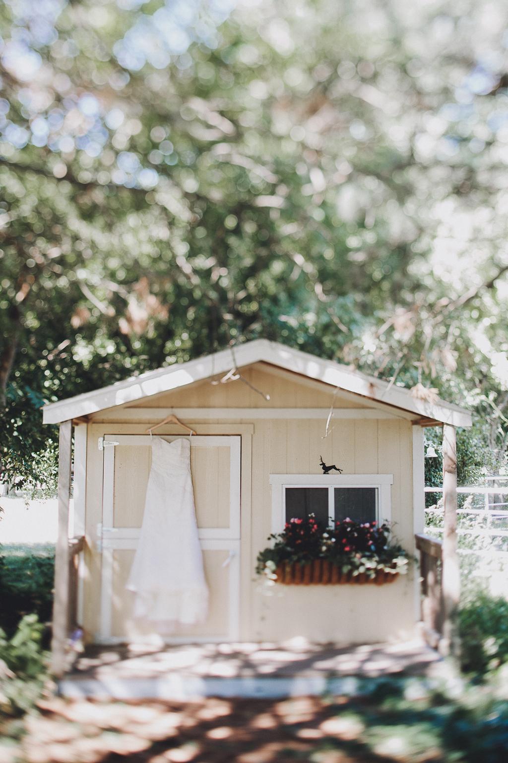 Nebraska Midwest Tent Wedding Dress