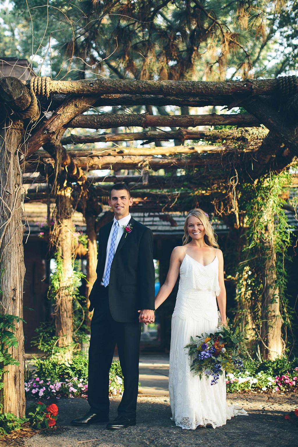 Nebraska Midwest Wedding Bride Groom