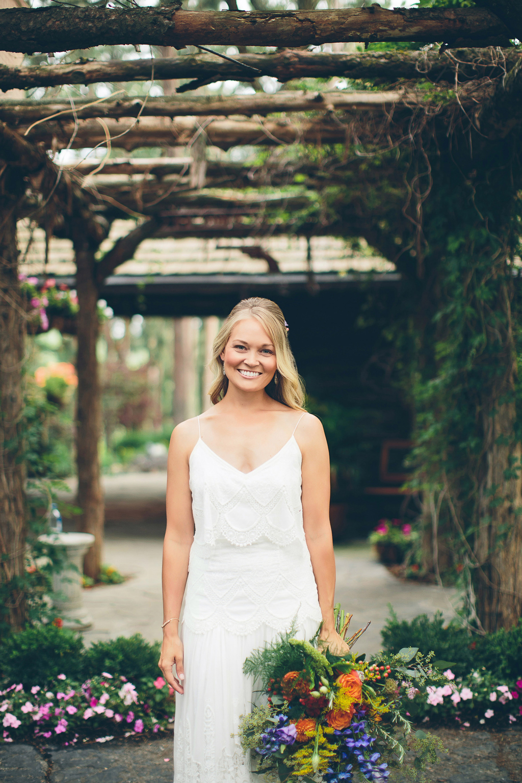 Nebraska Midwest Wedding Bride Bouquet