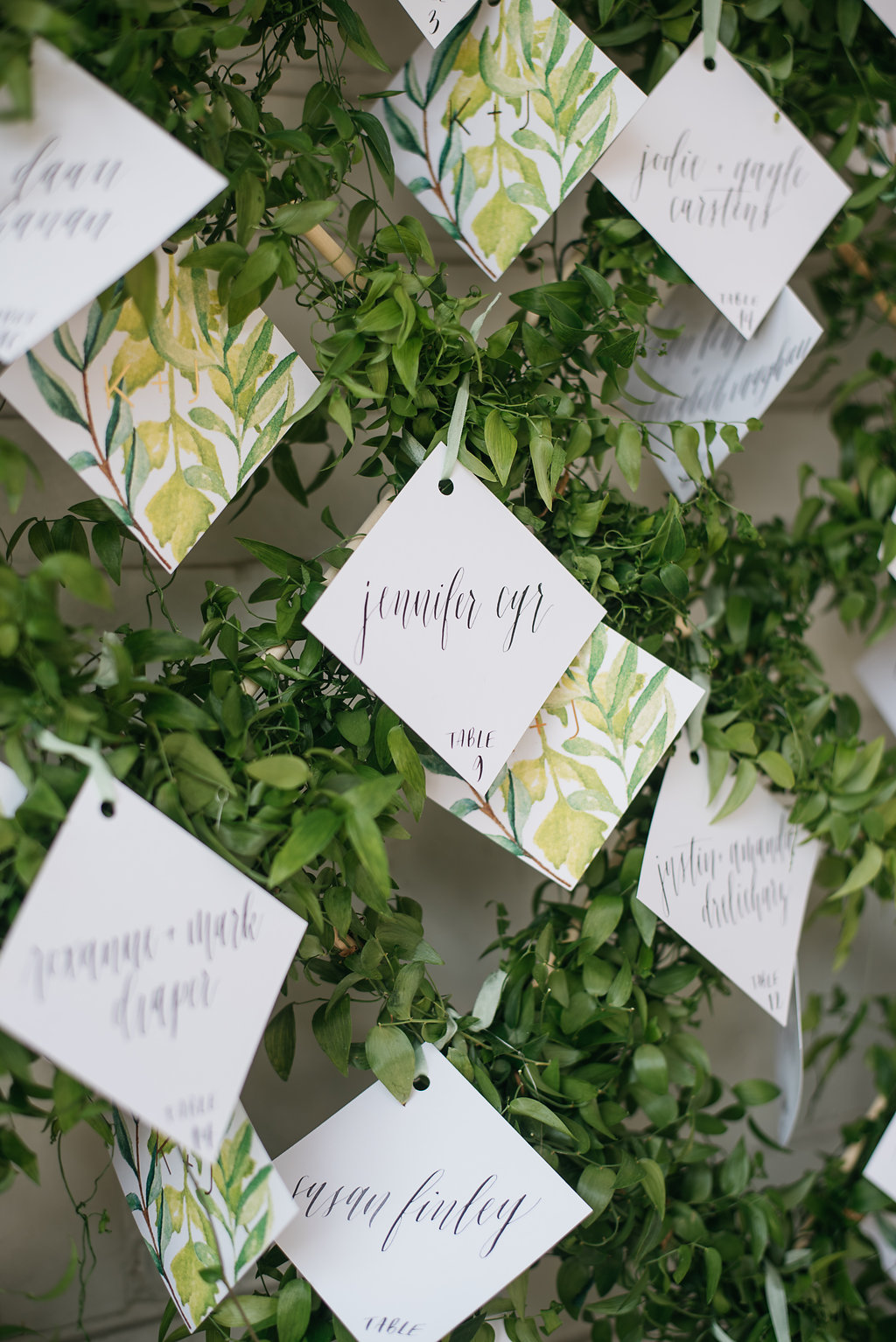Happy Hollow Country Club Omaha Nebraska Midwest Wedding Escort Card