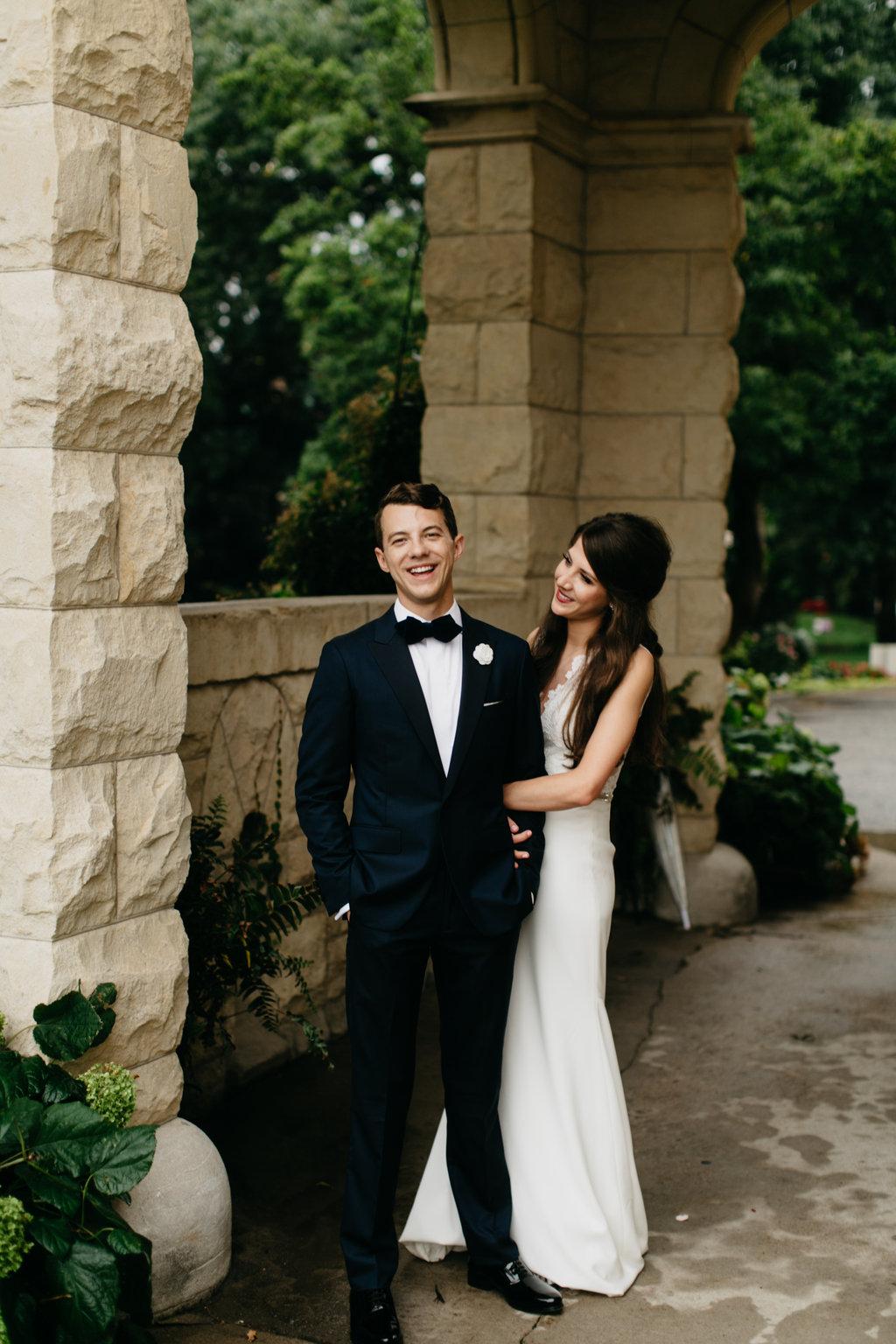 Paxton Ballroom Omaha Nebraska Midwest Wedding Couple