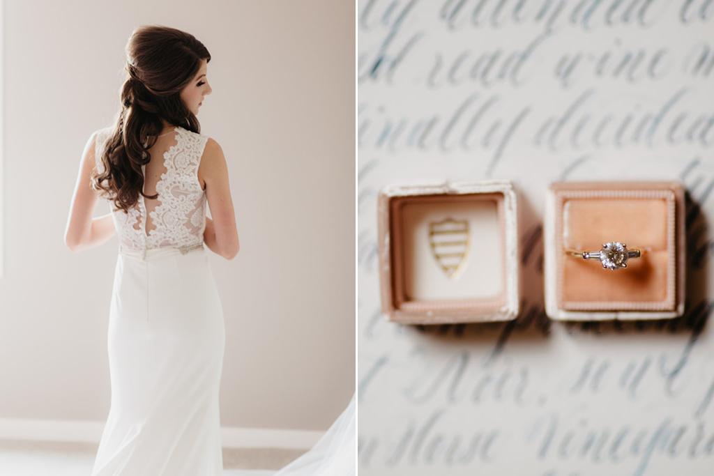 Paxton Ballroom Omaha Nebraska Midwest Wedding Bride Ring