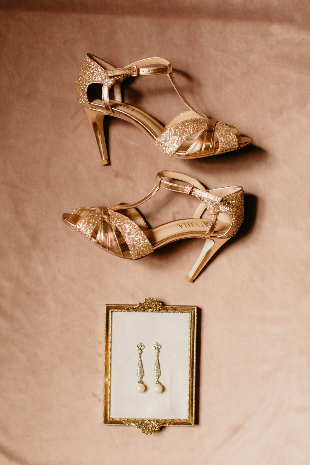 Paxton Ballroom Omaha Nebraska Midwest Wedding Shoes Earrings