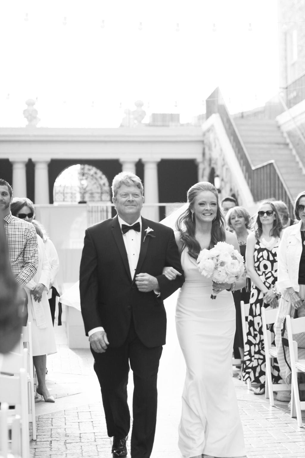 Omaha Wedding Magnolia Hotel Bride Father