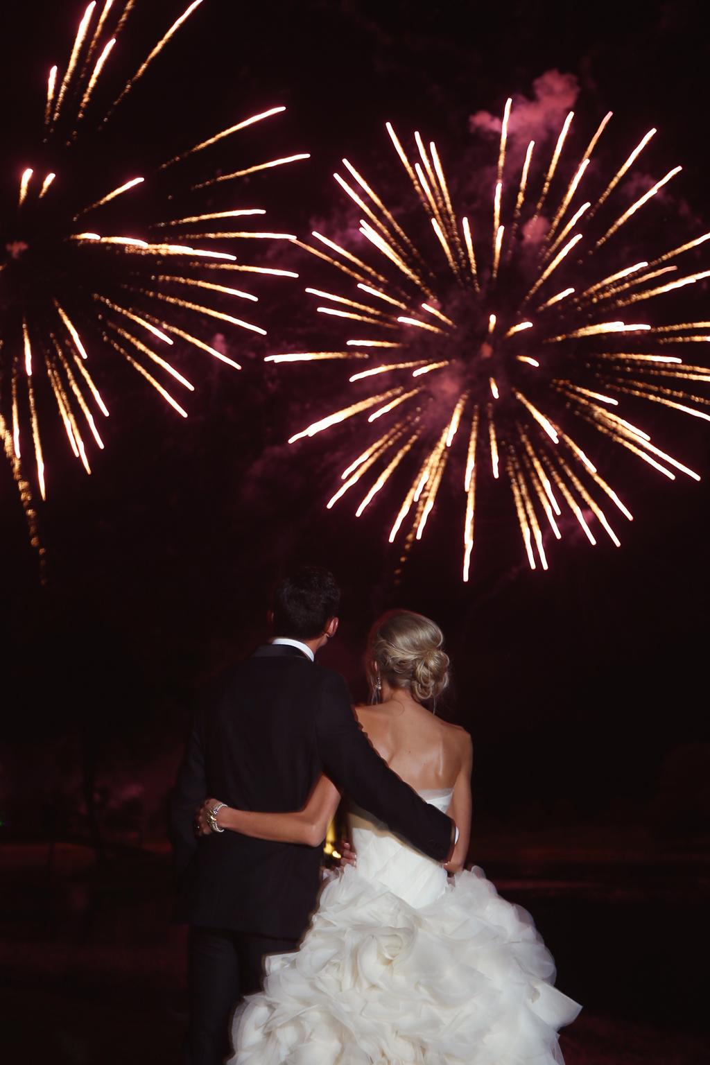 Nebraska Midwest Wedding Avalon Event Paradise Fireworks