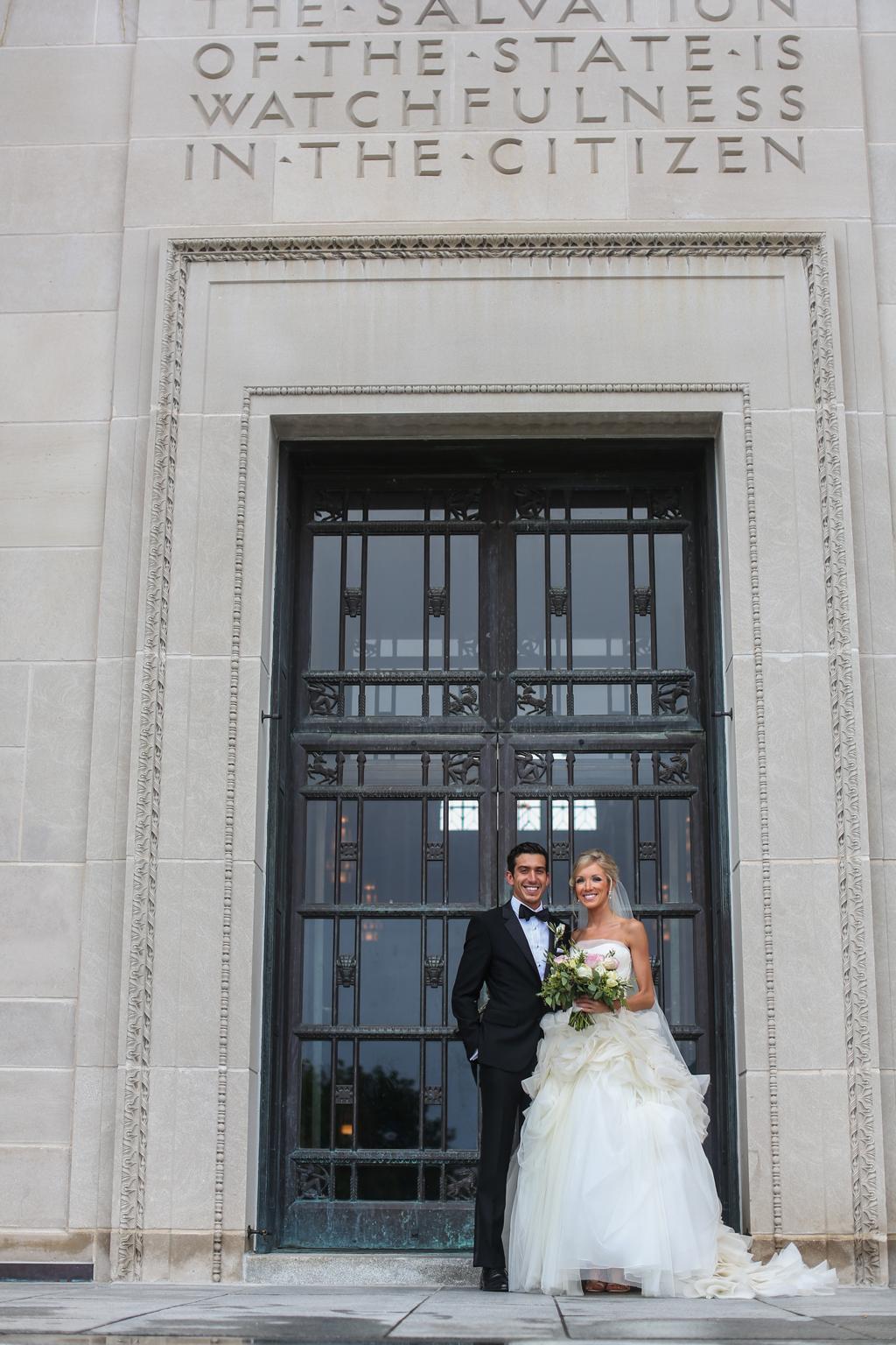 Nebraska Midwest Wedding Couple Photo