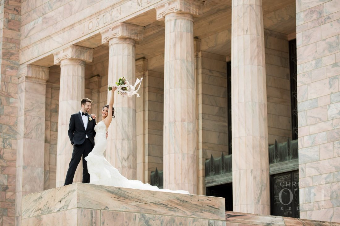 Joslyn Art Museum Omaha Nebraska Wedding Bouquet