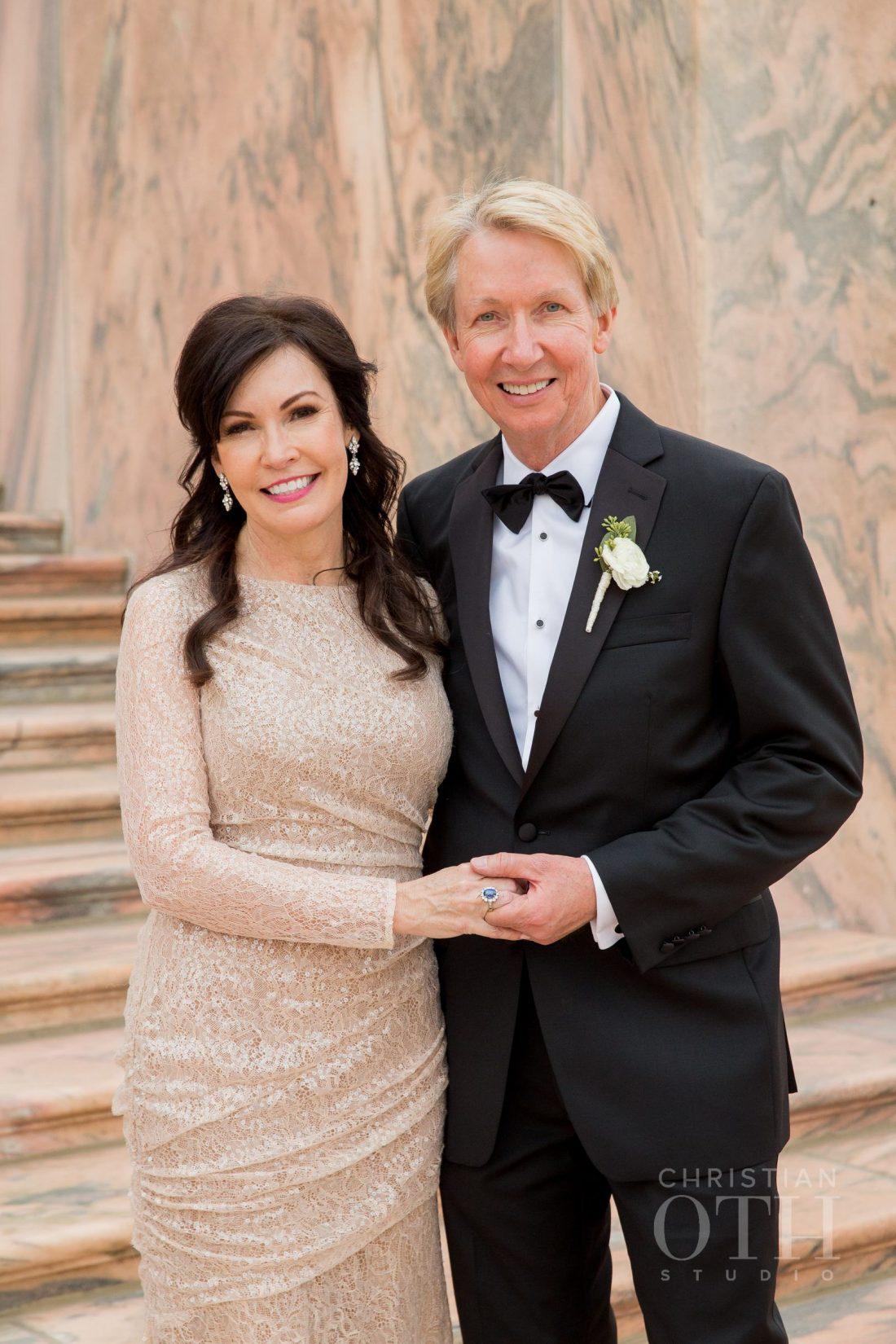 Joslyn Art Museum Omaha Nebraska Wedding Bride's Parents