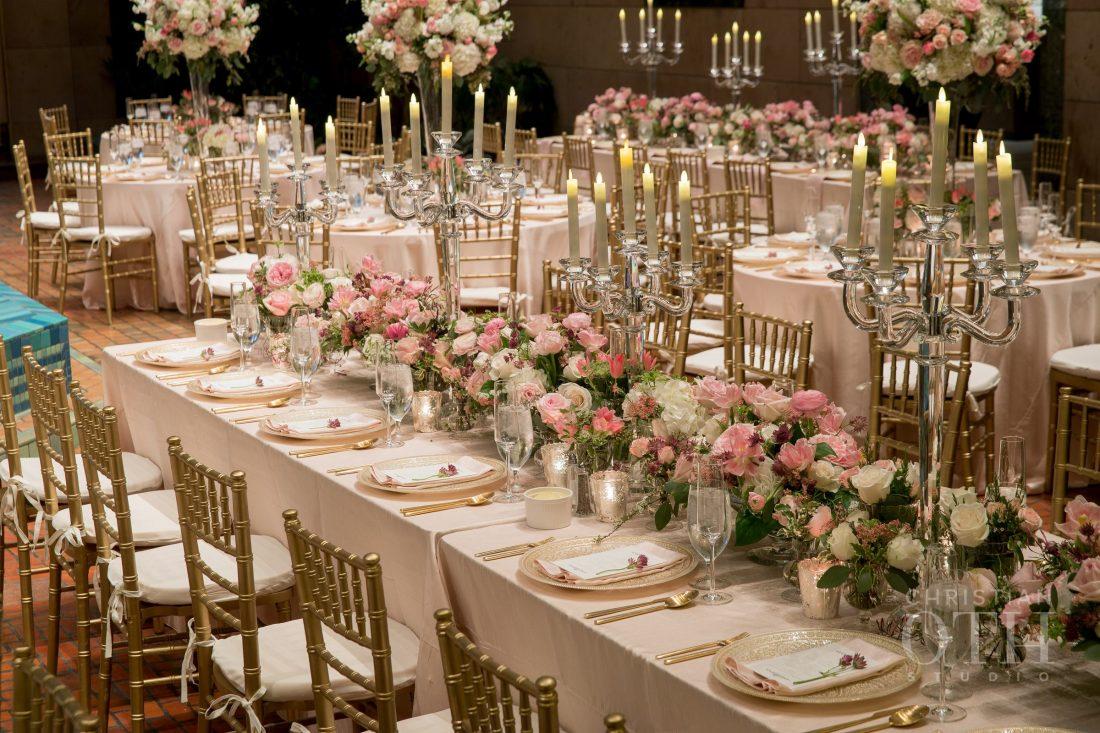 Joslyn Art Museum Omaha Nebraska Wedding Guest Table