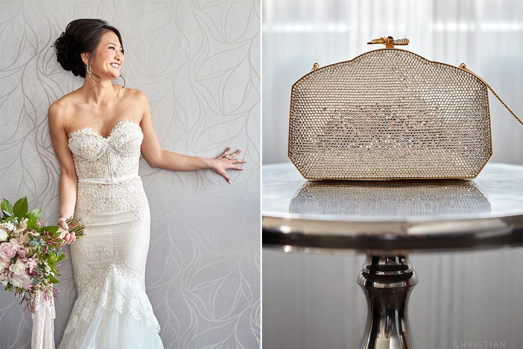 Joslyn Art Museum Omaha Nebraska Wedding Bride Purse